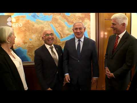 PM Netanyahu Meets New Zealand Minister of Defence