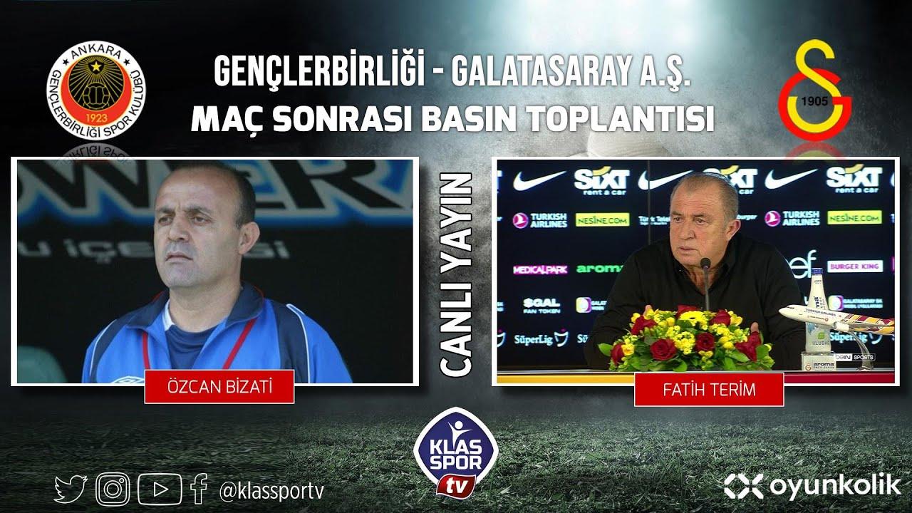 Galatasaray- Gençlerbirliği Basın Toplantısı ᴴᴰ (CANLI)