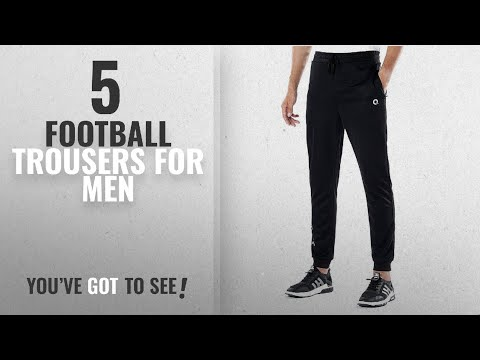 top-10-football-trousers-for-men-[2018]:-ogeenier-men's-tracksuit-bottoms-with-non-slip-zipper