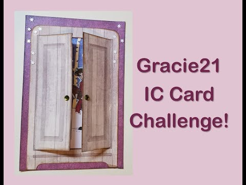2 VRs for Gracie21: IC Card Challenge & Flash Giveaway!