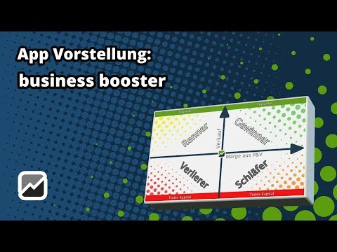 tricoma - business booster - Renner/Penner Auswertung + Lageroptimierung