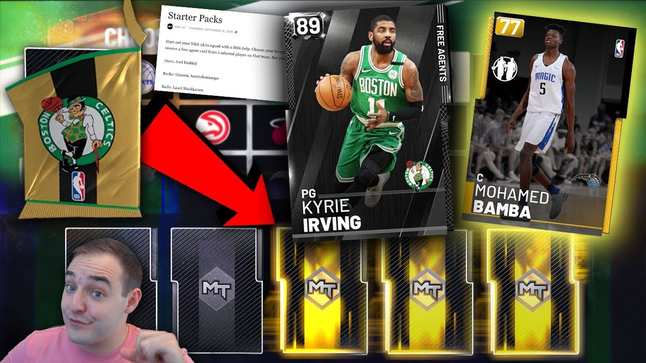 Nba 2k19 My Team Best Starter Packs Ever Full List Of What Player Comes In Each Pack