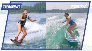 Brignone e Brutto: Wakesurf vs. Wakeboard