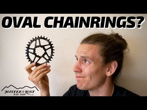 DO OVAL CHAINRINGS WORK? Let's see!