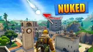 "TILTED TOWERS GETTING NUKED, Fortnite ""Comet"" EXPLAINED 