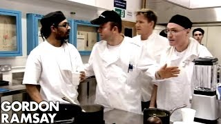 Gordon Ramsay Attempts To Break Up An Argument | Gordon Behind Bars