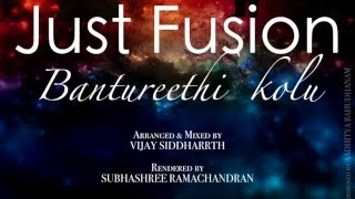 Just fusion - Bantureethi Kolu (Vijay & Subhashree)