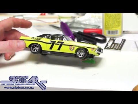 Scalextric Challenger Build & Modification – Slotcar NZ
