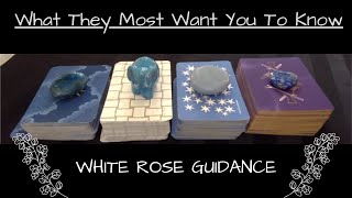 🌹 What They Most Want You To Know 💖✨ PICK A CARD Timeless Love Tarot Reading Soulmate Twin Flame Ex