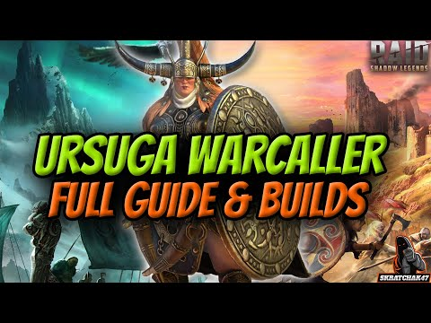 NEW CHAMPION URSUGA WARCALLER GAMEPLAY AND REVIEW | RAID SHADOW LEGENDS