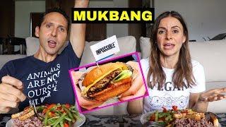 MUKBANG RESPONSE: Impossible Burger + More