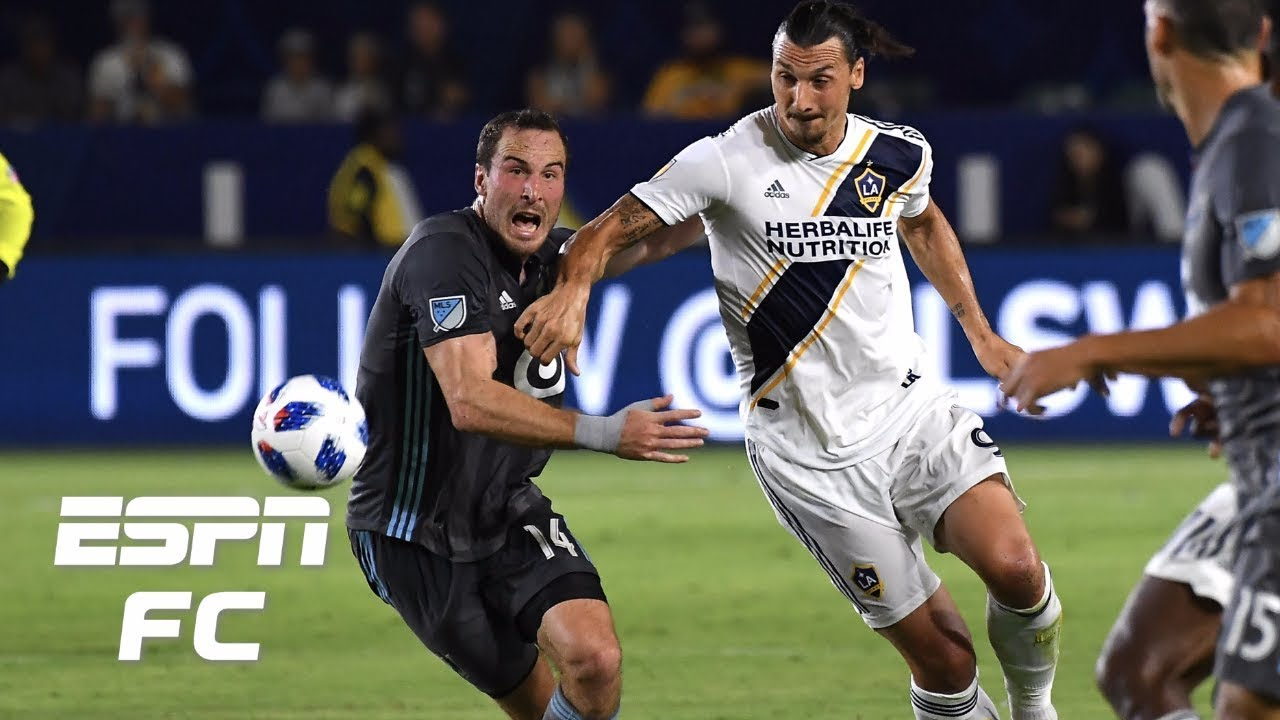 Zlatan Ibrahimovic records goal and assist, LA Galaxy beat Minnesota FC 3-1 | MLS Highlights