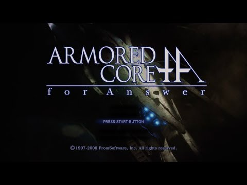 徳遺and福堕 - ARMORED CORE for Answer