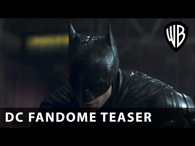 The Batman - DC FanDome Teaser - Warner Bros. UK