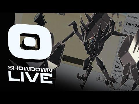 Pokemon Sun and Moon! Showdown Live: Enter Necrozma - Necrozma Showcase!