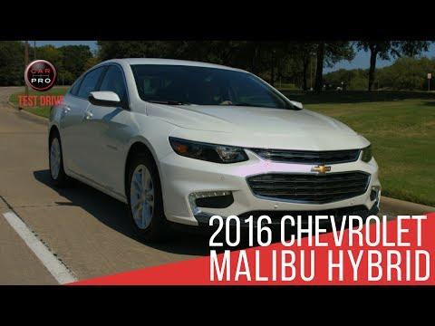 Test Drive: 2016 Chevrolet Malibu Hybrid