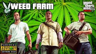 GTA V - Weed / Pot Farm Easter Egg - Braddock Farm - Mount Chiliad