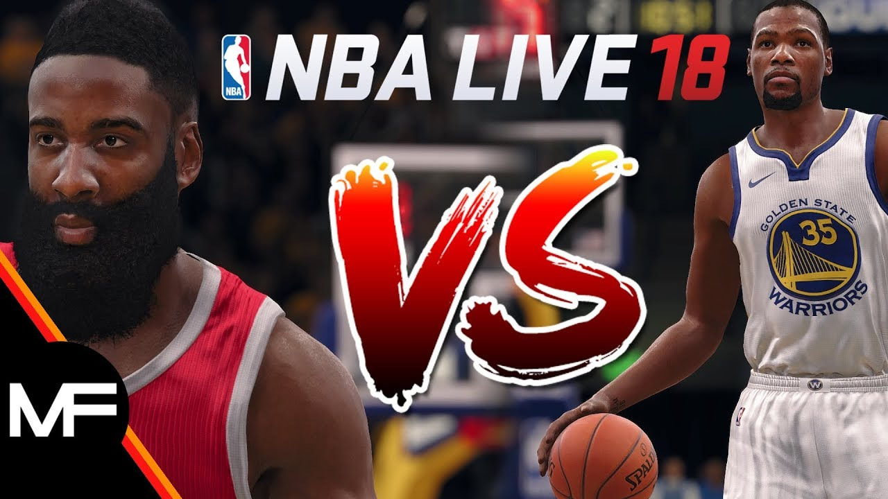 NBA LIVE 18 | ROCKETS VS WARRIORS OPENING NIGHT! | GSW TOO MUCH TO HANDLE?! | TIP-OFF SIMULATION
