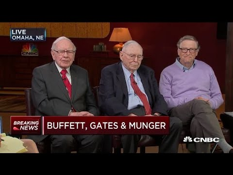 Warren Buffett discusses the Berkshire, Amazon, JP Morgan health care venture