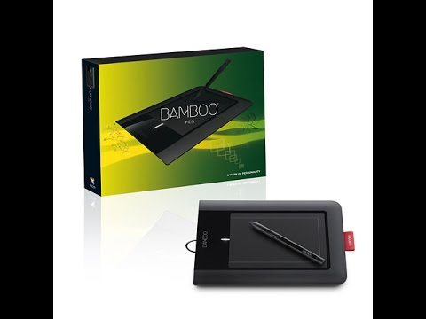 Unboxing Used Wacom Bamboo Pen Tablet