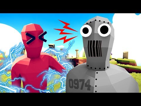 The NEW ROBOT FACTION are UNSTOPPABLE UNITS in Totally Accurate Battle Simulator (TABS Mods)