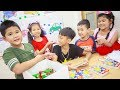 Kids Go To School | Chuns And Best Friend In Class Fun How To Recognize Fruit