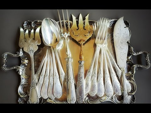 3 способа почистить столовое серебро