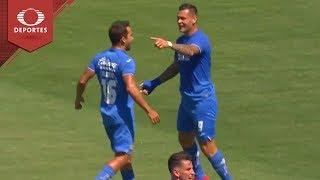 Gol de Caraglio | Cruz Azul 1-0 Necaxa | Supercopa MX | Televisa Deportes