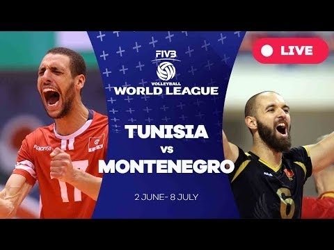Tunisia v Montenegro - Group 3: 2017 FIVB Volleyball World League