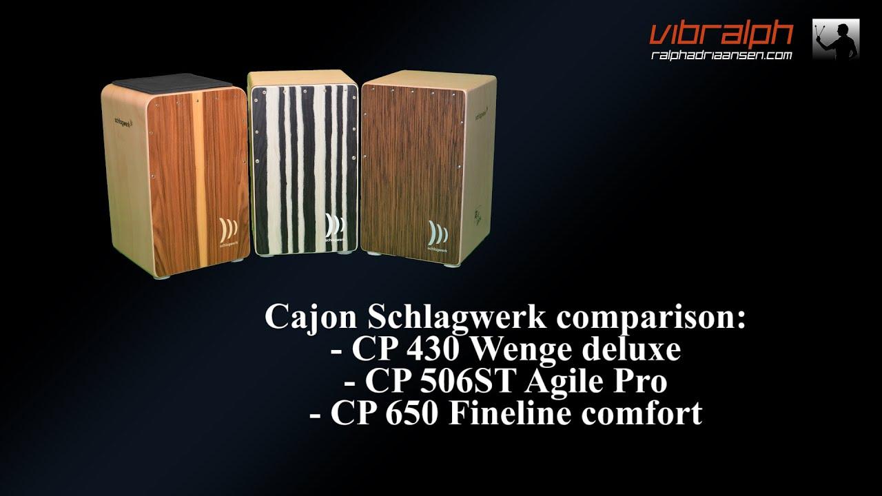 Schlagwerk CP-5003 Cajon Precise OS Black Silver /& Tasche /& Sitzpad  *TOPBUNDLE*