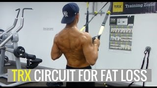 20 Minute TRX Circuit to Build Muscle and Lose Fat