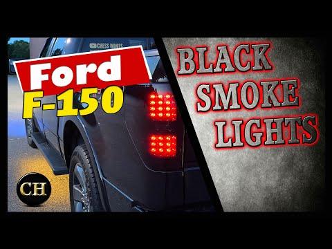 ford-f150-pickup-black-smoke-led-tail-lights-brake-lamps-pair-install