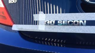 Как правильно клеить буквы шильд шильдик на автомобиль.