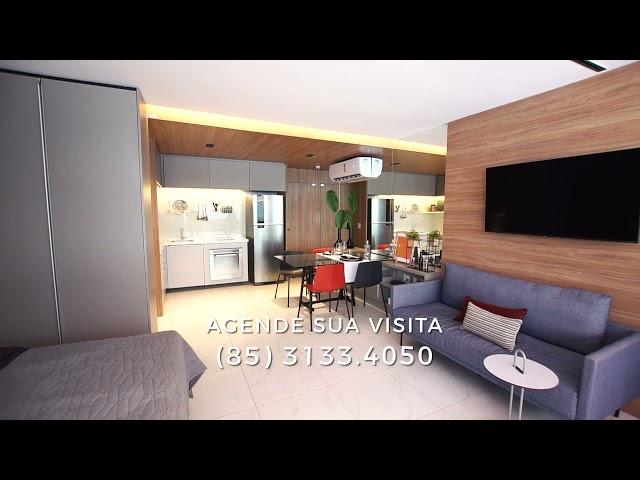 Conheça o Apartamento Decorado J.Smart Carolina Sucupira - 37m²