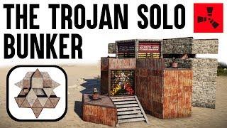 (Rust Solo Base) Rust Base Building - Rust Bunker Base - Rust Base Design