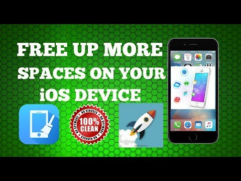NEW! Clean/Free Up More Space On Your iOS Device NO JAILBREAK NO PC