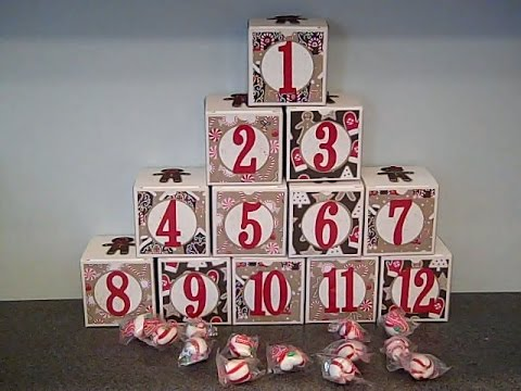 12 days of christmas gift boxes