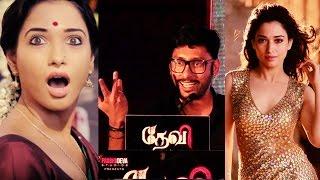 RJ Balaji's regret about Tamannaah's look in Devi(L)