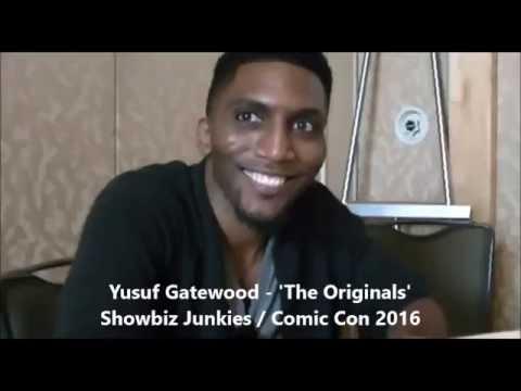 The Originals  Yusuf Gatewood , Season 4 Comic Con