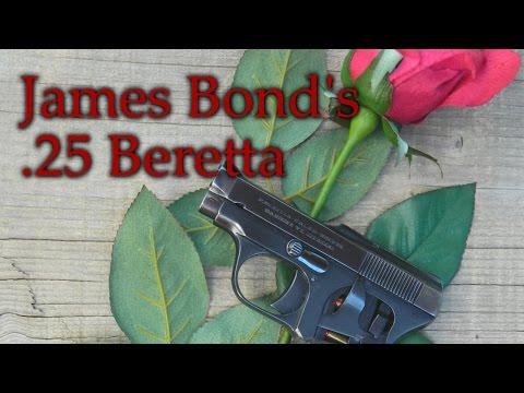 The .25 Beretta of Ian Fleming's James Bond