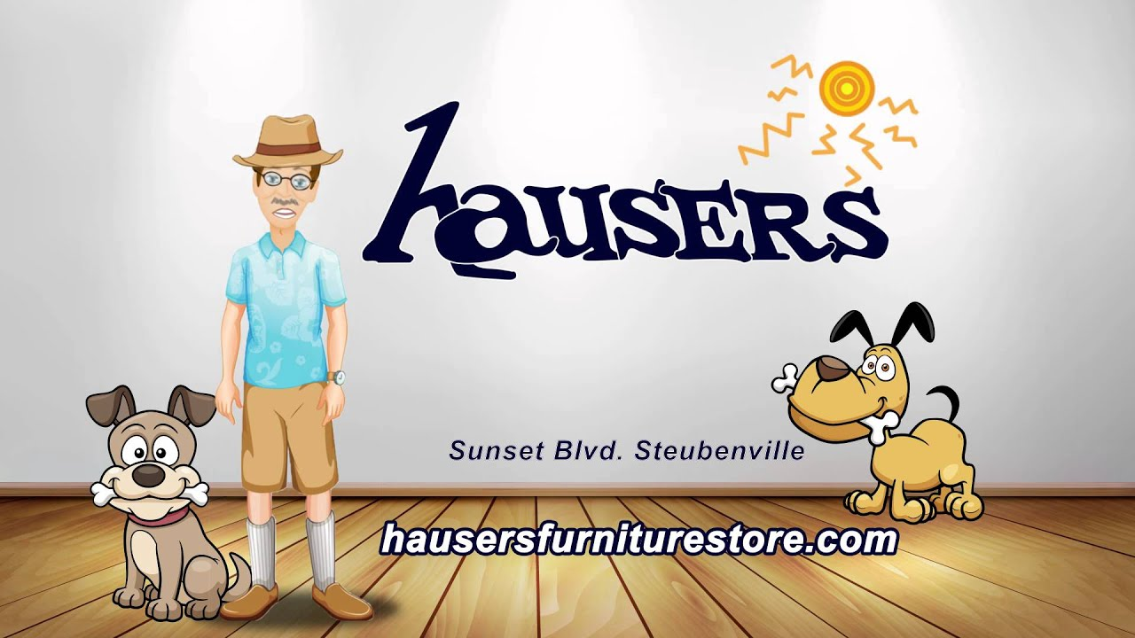 Hausers Furniture Center Dog Days of Summer Sale 2015 YouTube