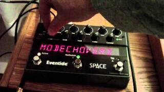 Oberheim SEM Pro + Eventide Space = Demo