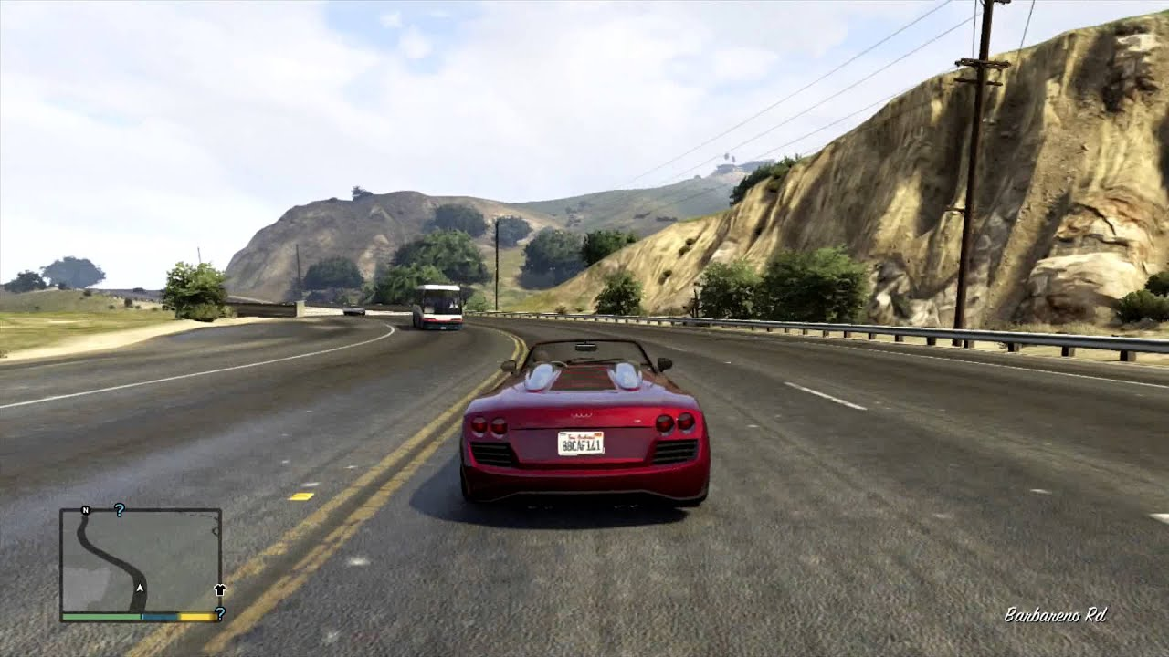 Grand Theft Auto V - Obey 9F Cabrio Test Drive - YouTube