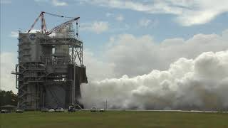 Final RS-25 Engine Test of the Summer