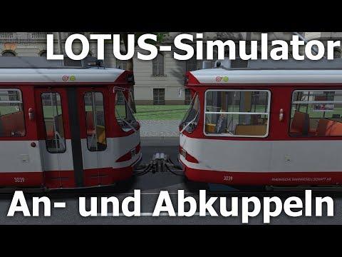 LOTUS-Simulator Addon: GT8S kuppeln und entkuppeln