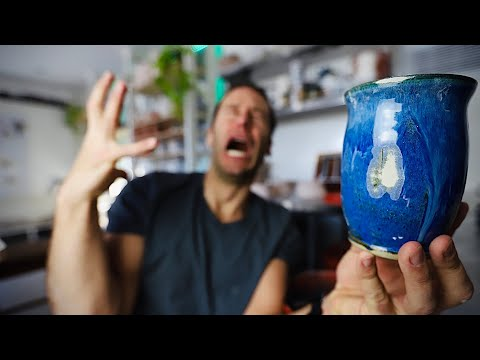 How To RE-GLAZE Your Failed Pots!!!