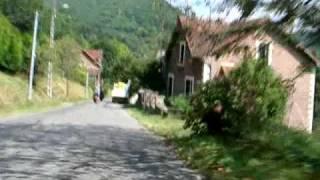 Downhill naar Laval-de-Cère