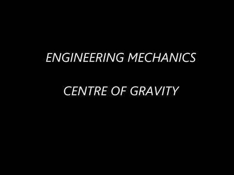 Mechanical Engineering Preparation (Centre of Gravity) in Hindi
