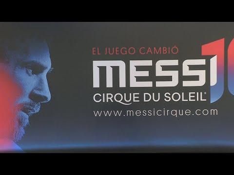 Messi será el protagonista del nuevo show del Cirque du Soleil