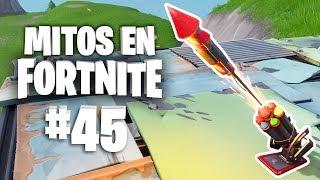 ¿Rocket Ride en un Cohete Pirotécnico? - Mitos Fortnite - Episodio 45 #MitosFortnite